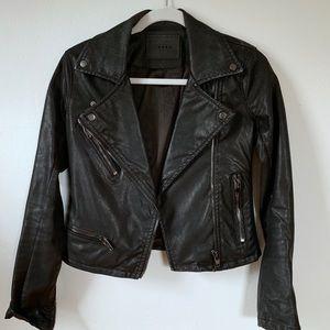 Blank NYC Black Faux Leather Jacket